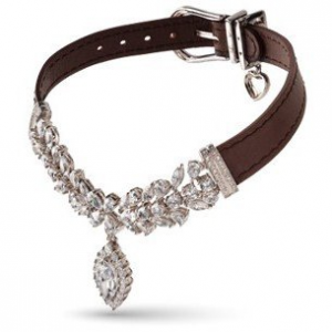 """I love diamonds"" dog jewellery collections"