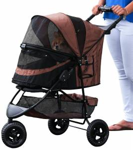 Pet Gear Three wheel dog stroller